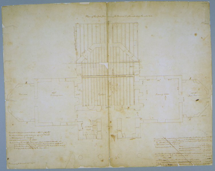 Monticello I First Floor Plan